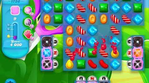 Candy Crush Soda Saga Level 1736 (3 Stars)