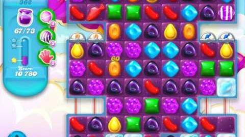 Candy Crush Soda Saga Level 362 (4th version, 3 Stars)