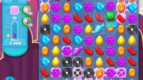 Candy Crush Soda Saga Level 418 (3 Stars)