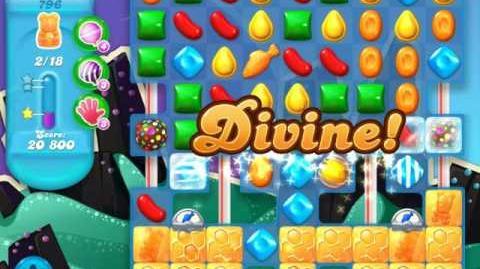 Candy Crush Soda Saga Level 796 (4th version, 3 Stars)