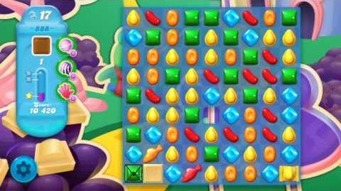 Candy Crush Soda Saga Level 888 (3 Stars)