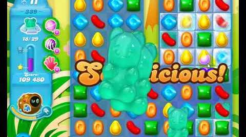 Candy Crush Friends Group SODA Level 339 1Stars 1st Update 291017