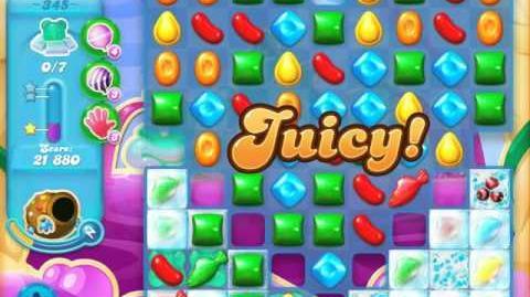 Candy Crush Soda Saga Level 345 (4th version, 3 Stars)