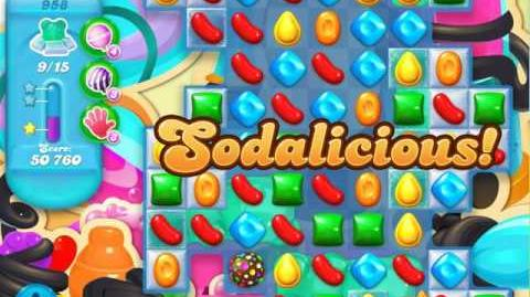 Candy Crush Soda Saga Level 958 (5th version, 3 Stars)