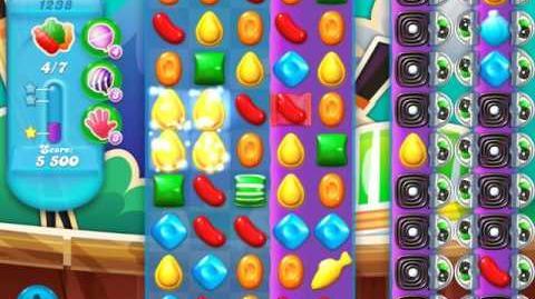 Candy Crush Soda Saga Level 1238 (nerfed, 3 Stars)