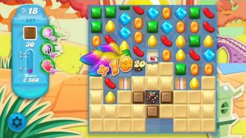 Candy Crush Soda Saga Level 827 (3 Stars)