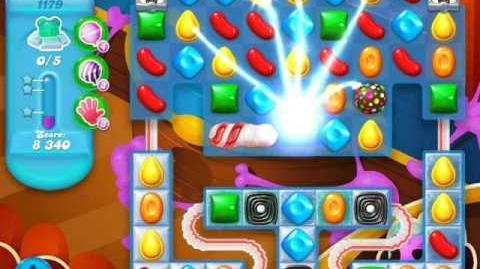 Candy Crush Soda Saga Level 1179 (5th version)