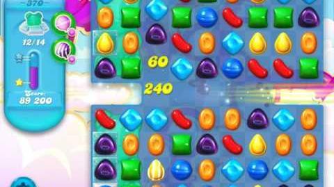 Candy Crush Soda Saga Level 370 (4th version, 3 Stars)