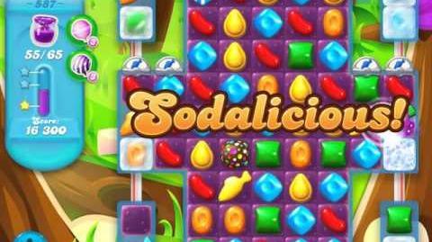 Candy Crush Soda Saga Level 587 (3 Stars)