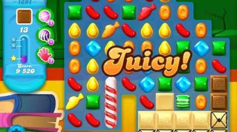 Candy Crush Soda Saga Level 1691