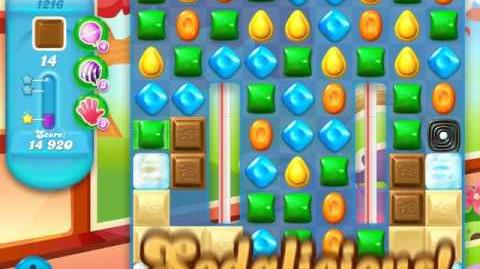 Candy Crush Soda Saga Level 1216 (2nd buffed)