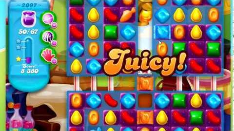 Candy Crush Soda Saga Level 2097 *