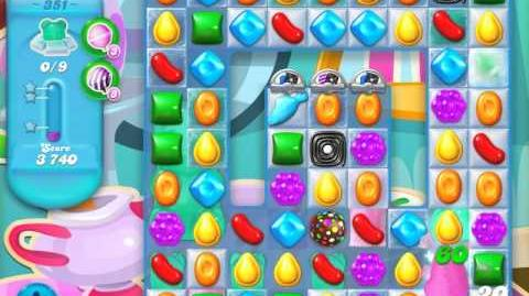 Candy Crush Soda Saga Level 351 (nerfed, 3 Stars)
