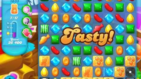 Candy Crush Soda Saga Level 1035 (4th version, 3 Stars)