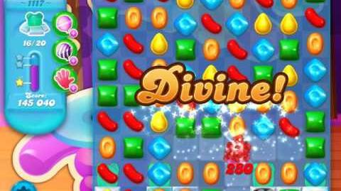 Candy Crush Soda Saga Level 1117 (5th version, 3 Stars)