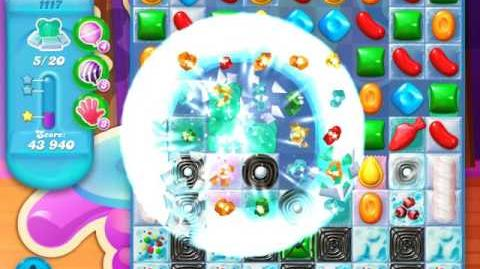 Candy Crush Soda Saga Level 1117 (7th version)