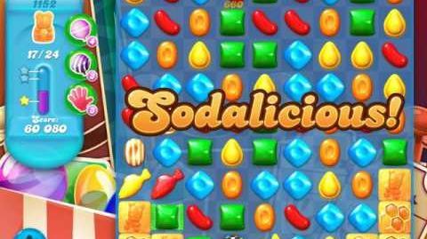 Candy Crush Soda Saga Level 1152 (2nd nerfed)