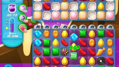 Candy Crush Soda Saga Level 638 (nerfed, 3 Stars)
