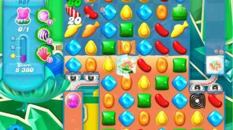Candy Crush Soda Saga Level 987 (4th version)