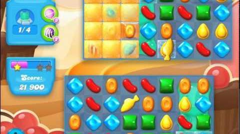 Candy Crush Soda Saga Level 101 (nerfed, 3 Stars)