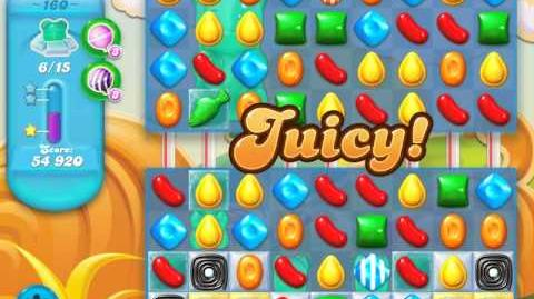 Candy Crush Soda Saga Level 160 (4th version, 3 Stars)