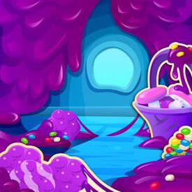Sticky Sweet Cave background