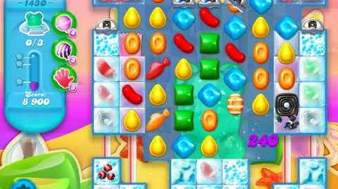 Candy Crush Soda Saga Level 1430 (buffed, 3 Stars)
