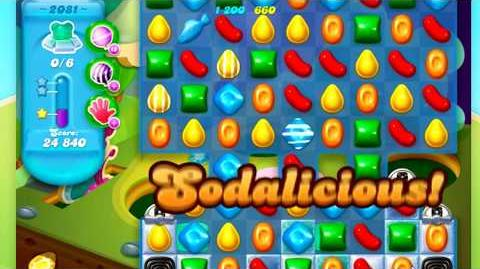 Candy Crush Soda Saga Level 2081 *