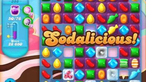 Candy Crush Soda Saga Level 386 (3 Stars)