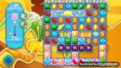Candy Crush Soda Saga Level 501 (2nd version, 3 Stars)