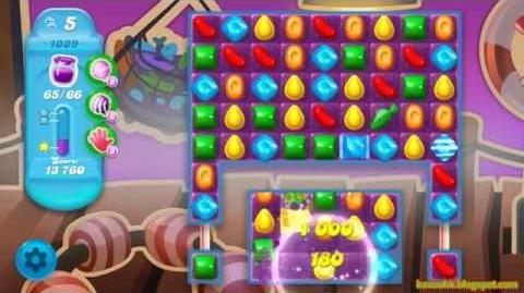 Candy Crush Soda Saga Level 1009 (No boosters)