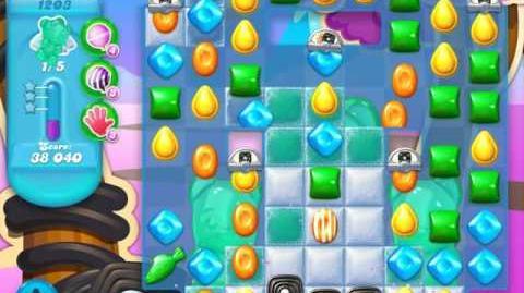 Candy Crush Soda Saga Level 1203 (4th version, 3 Stars)