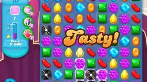 Candy Crush Soda Saga Level 418 (3rd version, 3 Stars)