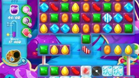 Candy Crush Soda Saga Level 625 (6th version)