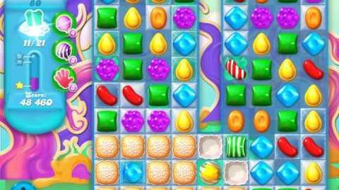 Candy Crush Soda Saga Level 80 (8th version, 3 Stars)