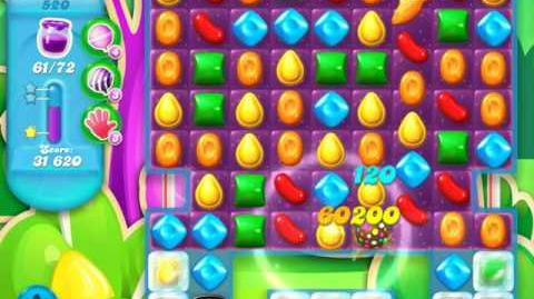 Candy Crush Soda Saga Level 520 (6th version)