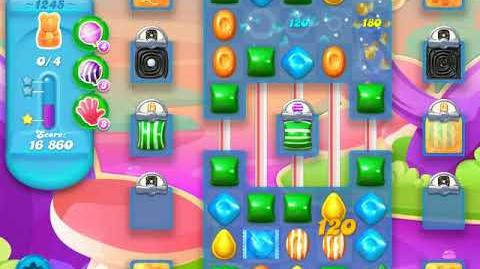 Candy Crush Soda Saga Level 1245 (6th version, 3 Stars)