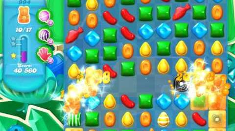 Candy Crush Soda Saga Level 994 (nerfed, 3 Stars)