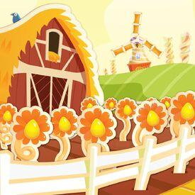 Appetizing Acres background