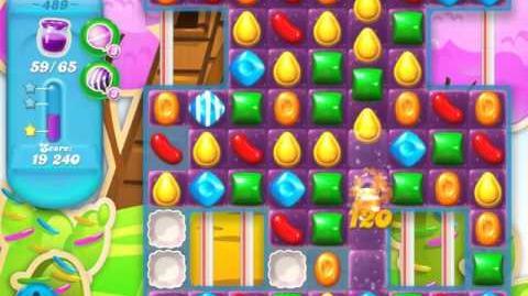 Candy Crush Soda Saga Level 489 (nerfed)