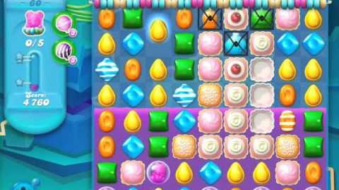 Candy Crush Soda Saga Level 60 (3rd version, 3 Stars)