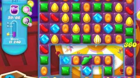 Candy Crush Soda Saga Level 541 (3 Stars)