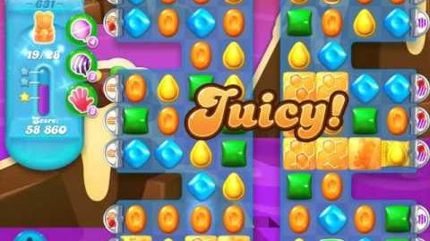 Candy Crush Soda Saga Level 631 (2nd version, 3 Stars)