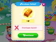 Purchase failed
