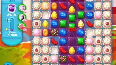Candy Crush Soda Saga Level 429 (5th version)