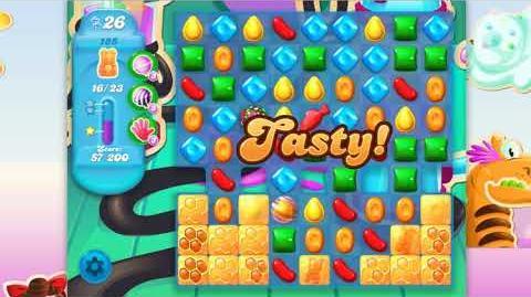 Candy Crush Soda Saga - Level 185 - No boosters ☆☆☆