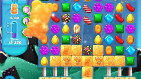 Candy Crush Soda Saga Level 793 (2nd nerfed, 3 Stars)