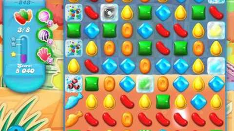 Candy Crush Soda Saga Level 843 (3 Stars)