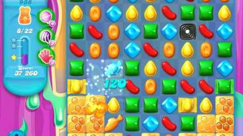 Candy Crush Soda Saga Level 938 (nerfed, 3 Stars)