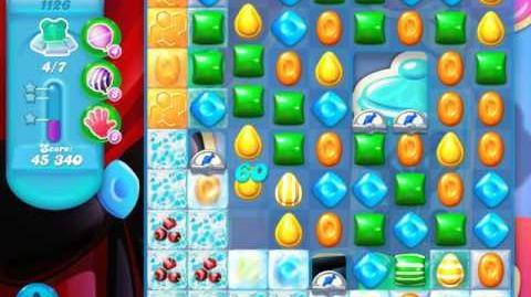 Candy Crush Soda Saga Level 1126 (4th version, 3 Stars)